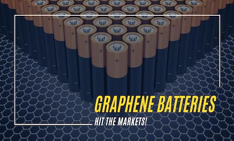 Huge Milestone in Tech Industry as Graphene Batteries Hit the Market